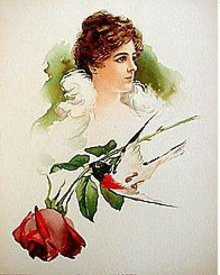 Lillian Blauvelt Lithograph