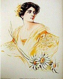 Eleanora Duse Art Print
