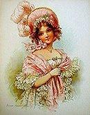 old vintage 1900 victorian litho ~ BRUNDAGE