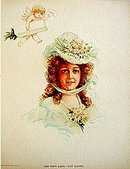 Victorian Opera Lithograph Print