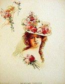 old vintage 1903 VICTORIAN LITHO print ~ opera