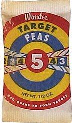 WONDER TARGET PEAS toy ~ 1970 VINTAGE