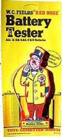 W.C. Fields Battery Tester Toy