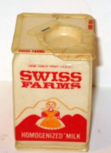 Swiss Farm Milk carton