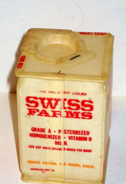 Swiss Farm Milk carton