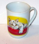 Japan Cat Coffee Mug