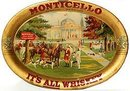 Monticello Whiskey Tip Tray