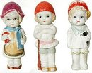 Bisque Baby Doll Statue Toys 1930s