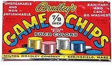 Milton Bradley Game Chips