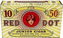 Red Dot Cigar Tin