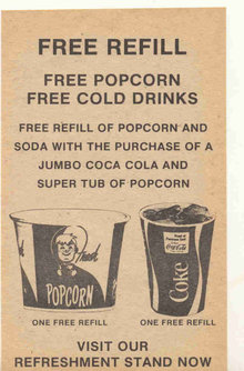 Coca-Cola Soda Movie Coupon