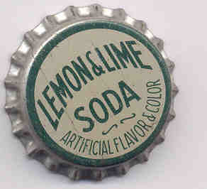 Lemon & LIme Soda Bottle Cap