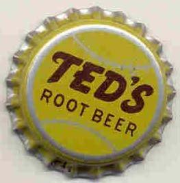 old vintage TEDS ROOT BEER soda bottle cap