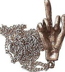 Middle Finger Toy - Protest Necklace