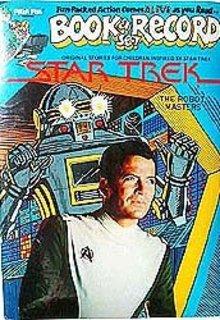 Star Trek Story Book Records Toy