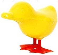 Yellow Chicken Candy Container