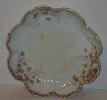 old vintage B&M CHINA plate