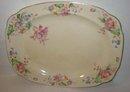 old vintage REGINO FLORAL serving platter