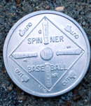 Fleer Gum Razzle Baseball Token Coin Toy