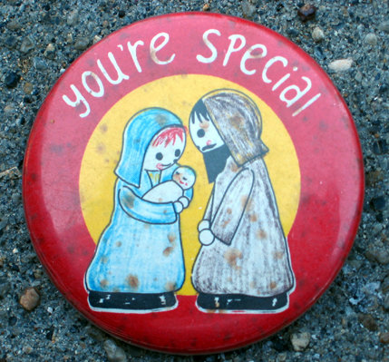 old vintage YOU'RE SPECIAL precious pinback pin