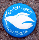 Work for Peace Pinback