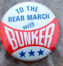 Archie Bunker Prejudice Pinback Pin