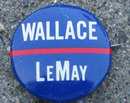 old vintage 1960s WALLACE LEMAY pin