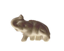 Celluloid Grey Elephant charm toy