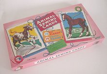 Animal Sewing Cards in Original Box 1960s