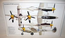 Lockheed jet Poster