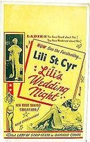 Lili St. Cyr Burlesque Poster