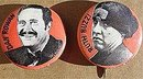 2 old vintage 1960s LAUGH-IN TV SHOW pinbacks