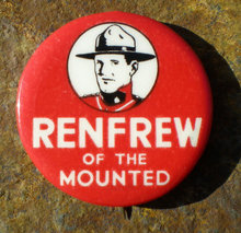 Renfrew Mounted Pinback