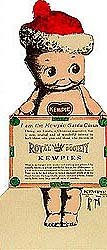 Kewpie Doll Ice Cream Sign