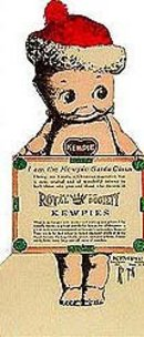 Kewpie Doll Ice Cream Sign