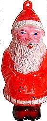 old vintage 1940s SANTA CLAUS CHRISTMAS ornament
