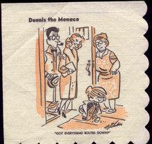 Dennis Menace Napkin