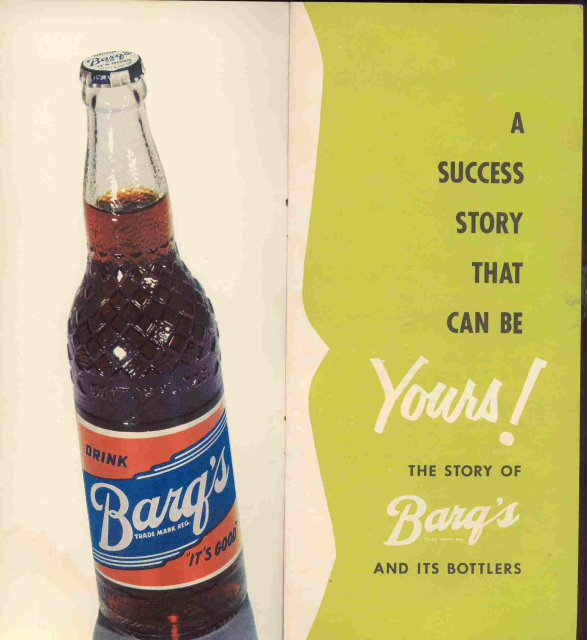 Barq's Soda Booklet ~ 1950