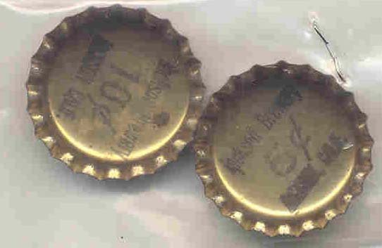Coca-Cola Soda Bottle Caps 1920s