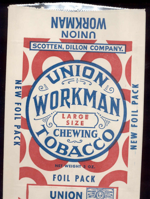Union Workman Tobacco Bag