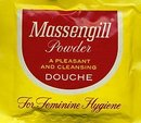 old vintage 1960s MASSENGILL powder douche pak