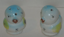 old vintage JAPAN duck SALT PEPPER shakers