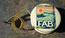 Celluloid FAB Laundry Detergent Tape Measure