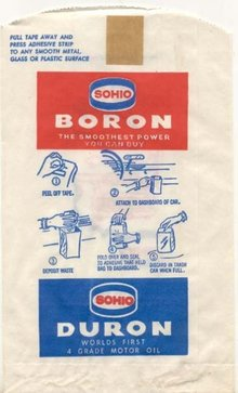 Sohio Boron Litter Bag