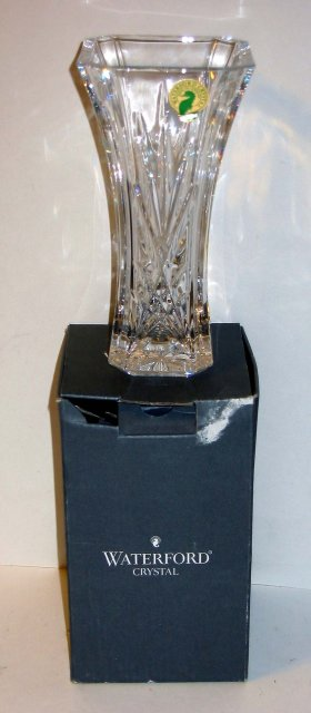 Waterford Crystal Flower Vase  6