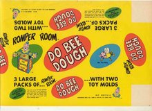 Romper Room Dough Label