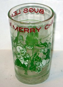 vintage BUGS BUNNY JELLY GLASS