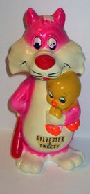 SYLVESTER & TWEETY BIRD woolworths piggy bank