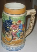 Glazed Beer Stein