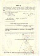 old vintage 1969 CINERAMA INC Eagle Stock Certificate